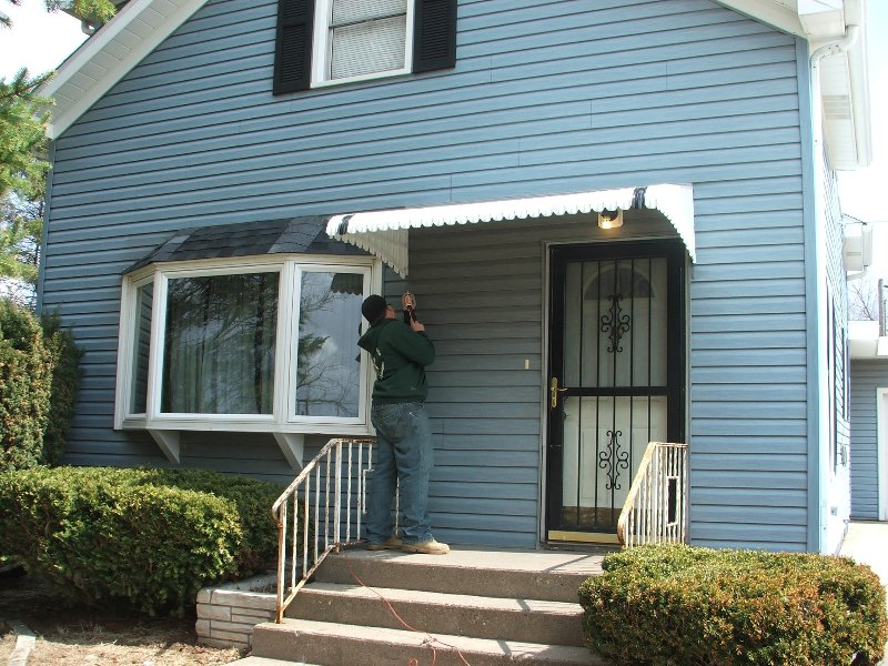 Door hood awnings come with 2 braces and depending on the projection may need posts. Call the professionals at Weather Whipper awnings for your perfect ... & Fairlite Door Hood - Du0026K Home Products